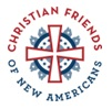 Christian Frieds of New Americans Logo