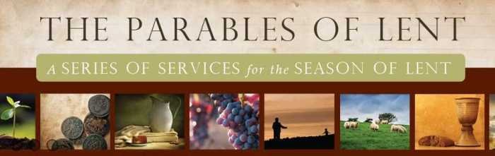 Parables of Lent Logo