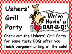 Ushers' Grill Party