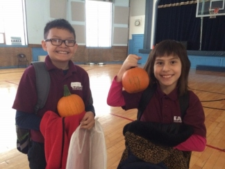 Eagle Students PumpkinPatch Event