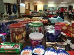 Food Pantry Christmas donations